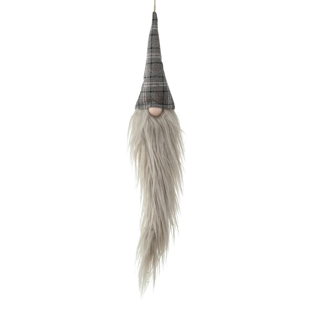 Wichtel langem Bart mit Strickmütze 82cm Weihnachtswichtel Filzwichtel