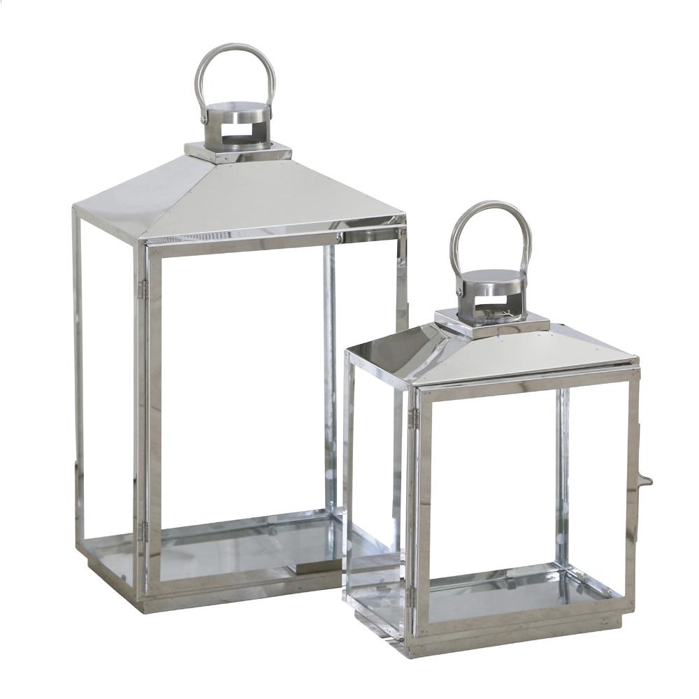 Laterne Silber Groß : 2tlg laterne travis silber aus metall modernes schlichtes ~ A.2002-acura-tl-radio.info Haus und Dekorationen