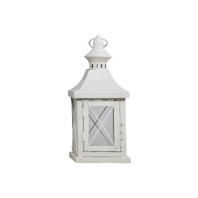 laterne kopenhagen wei metall gekreuzt mit ornament h27cm landhaus windlicht ebay. Black Bedroom Furniture Sets. Home Design Ideas
