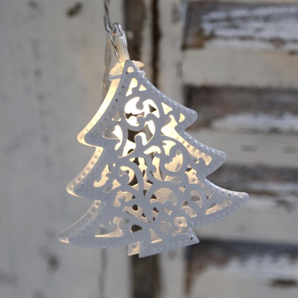 lichterkette white christmas tree wei tannenb ume. Black Bedroom Furniture Sets. Home Design Ideas