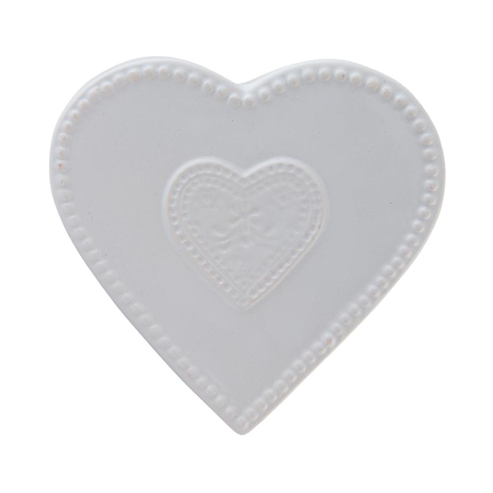 luftbefeuchter heart wei herz keramik wasserbeh lter f r. Black Bedroom Furniture Sets. Home Design Ideas