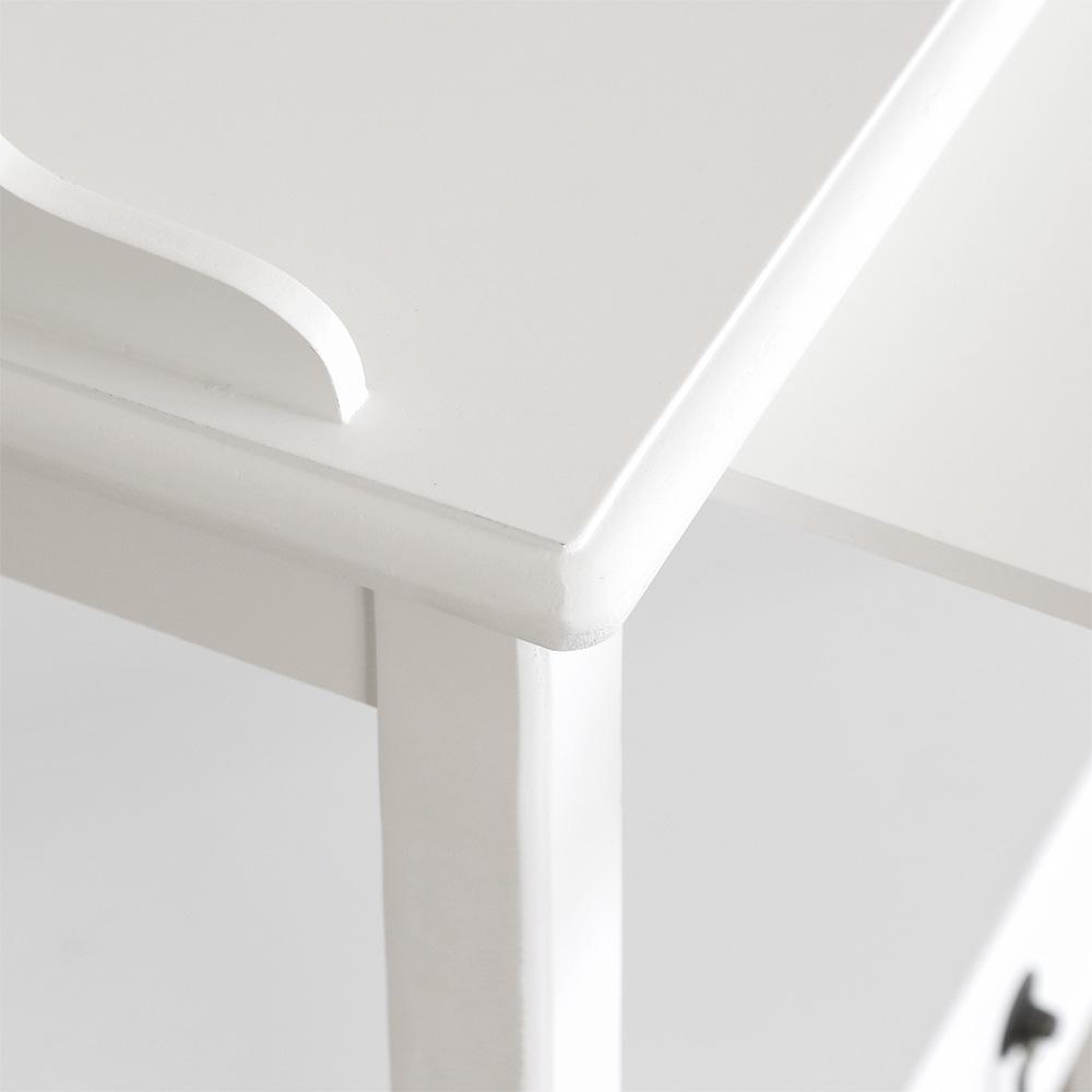 nachttisch wei landhaus cheap wei neapel nachttisch zoom. Black Bedroom Furniture Sets. Home Design Ideas