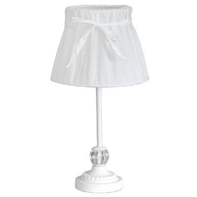 Tischlampe WHITE COTTAGE weiß im Landhausstil E14