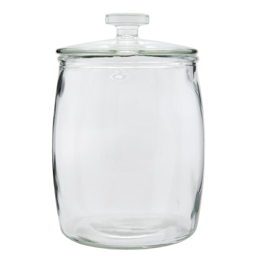 gro es vorratsglas living transparent vorratsdose aus glas mit deckel. Black Bedroom Furniture Sets. Home Design Ideas