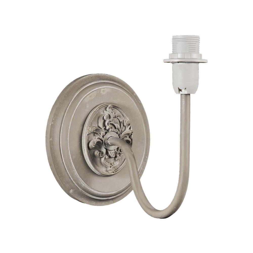 Rustikale Wandleuchte Shabby Braun Beige E14 Lampe Wand: Wandlampe PAULETTE Beige Taupe Ecru Landhausstil French